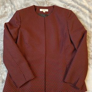 NWOT black & red suit jacket Sz 14